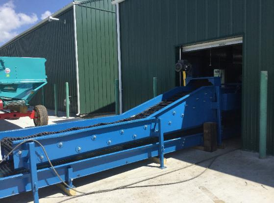 Potato Unloading Conveyor