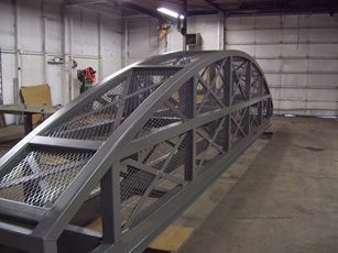 Steel Entrance Structure