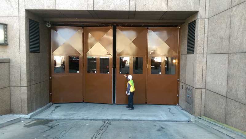 Bavak B-Protect Top Track High Speed Security Gate - LA Metro