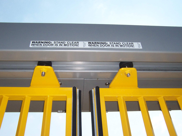 Bavak B-Protect Top Track High Speed Security Gate Components