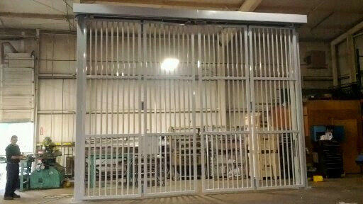 Bavak B-Protect Top Track High Speed Security Gate - San Ysidro Border Crossing
