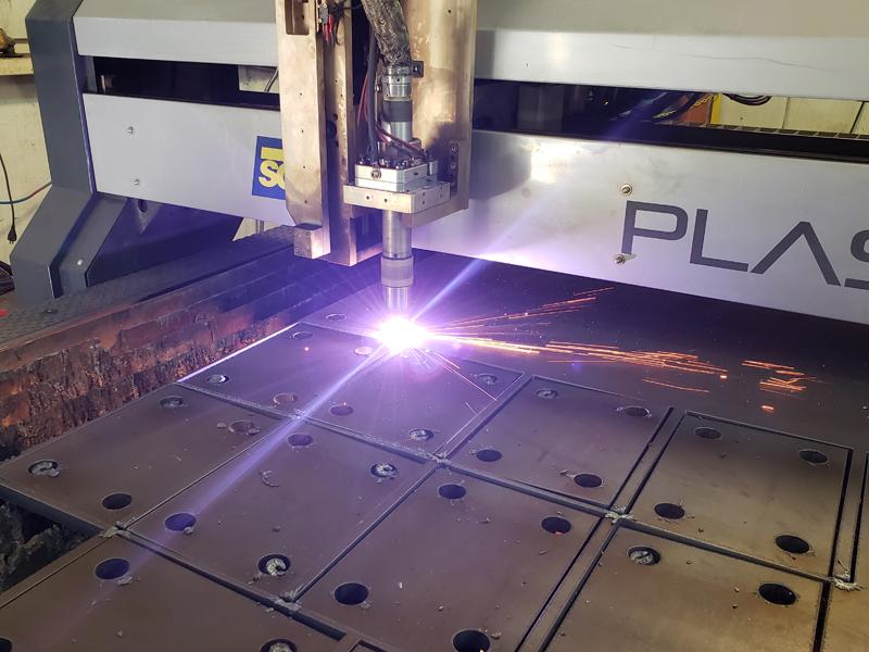HD CNC Plasma Cutting Flanges