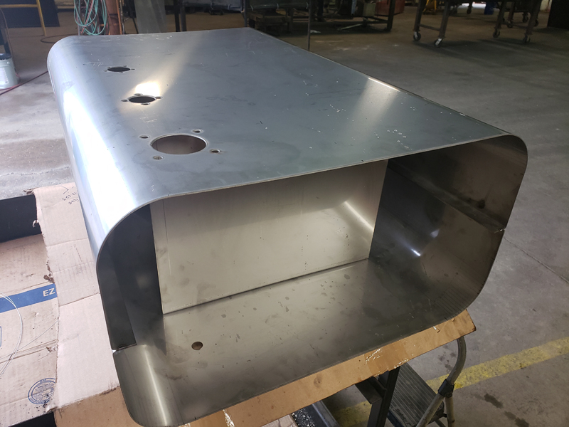 Formed Stainless Steel Fuel Tank