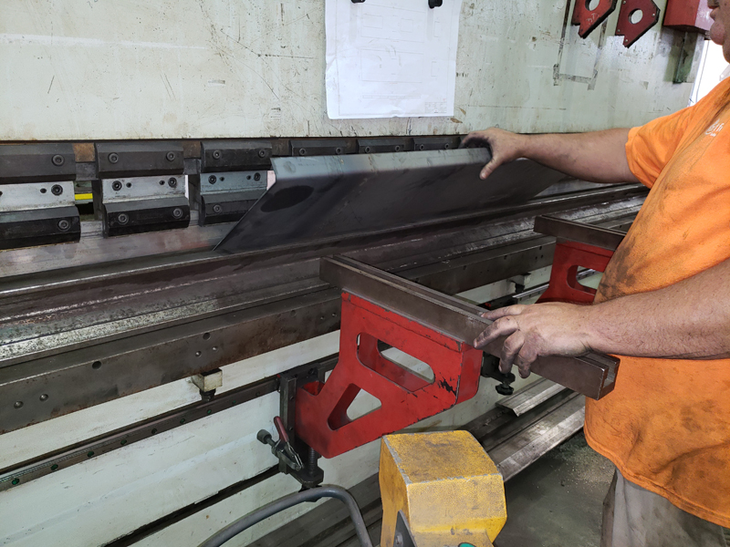 CNC Bending Steel Plate